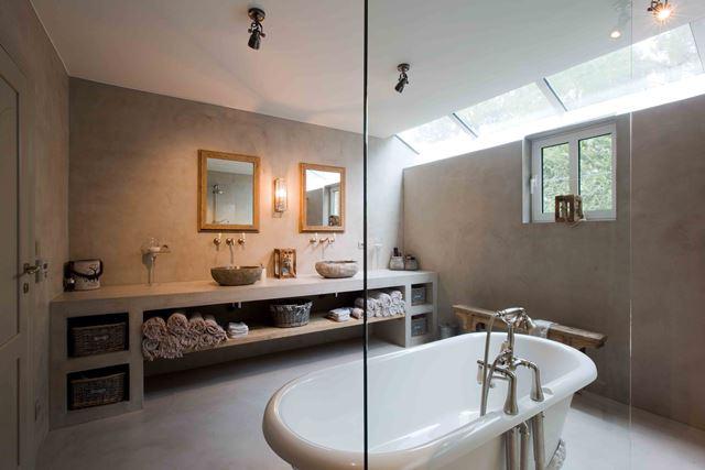 Stuc Deco Badkamer : Badkamer stucwerk u eigensinn natuurlijk wonen